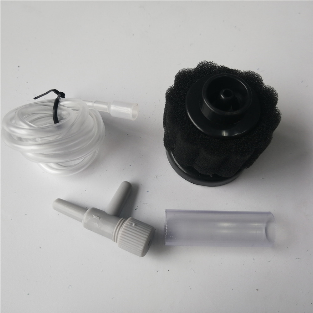 Filtro de esponja pequeno super bioquímico Xy2833 Filtro de esponja XY 2833 com tubo de ar e válvula