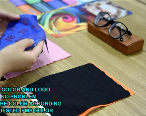 100% Polyester Microfiber Sunglasses Cleaning Cloth