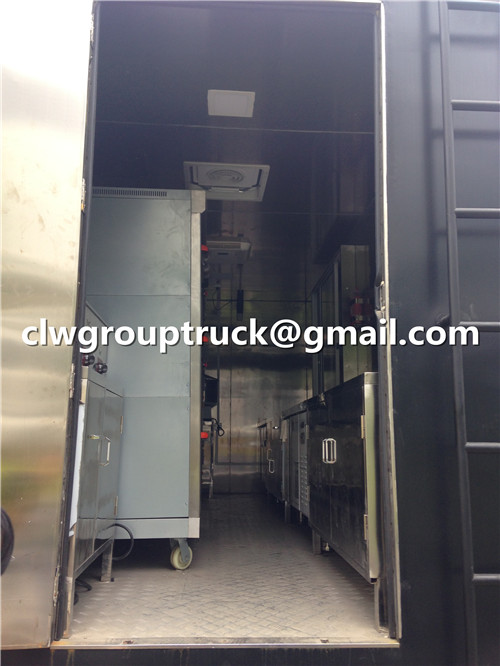 CLW GROUP TRUCK Mobile Dining&Restaurant Car