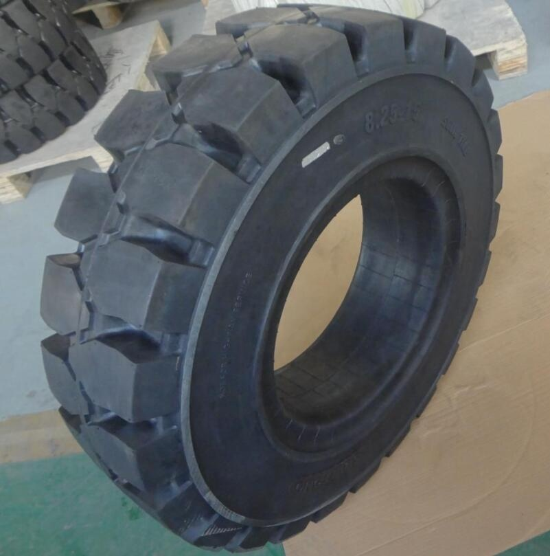 TOPOWER high quality forklift solid tire 8.25-15