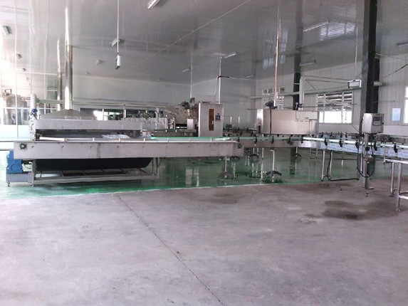 Sterilization and outer packaging room