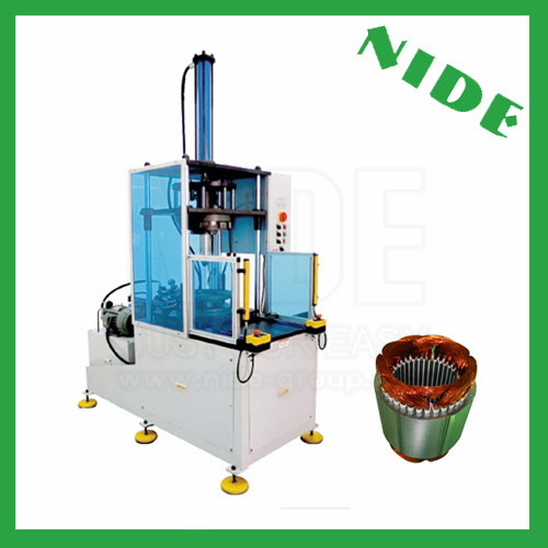 Stator coil middle forming machine