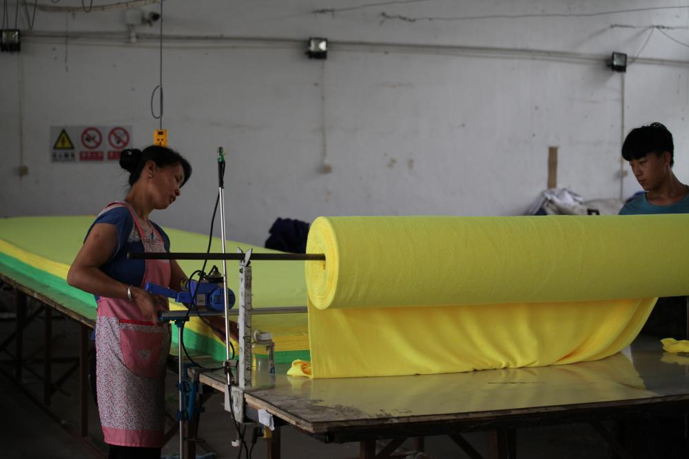 Microfiber Cloth Cutting Process