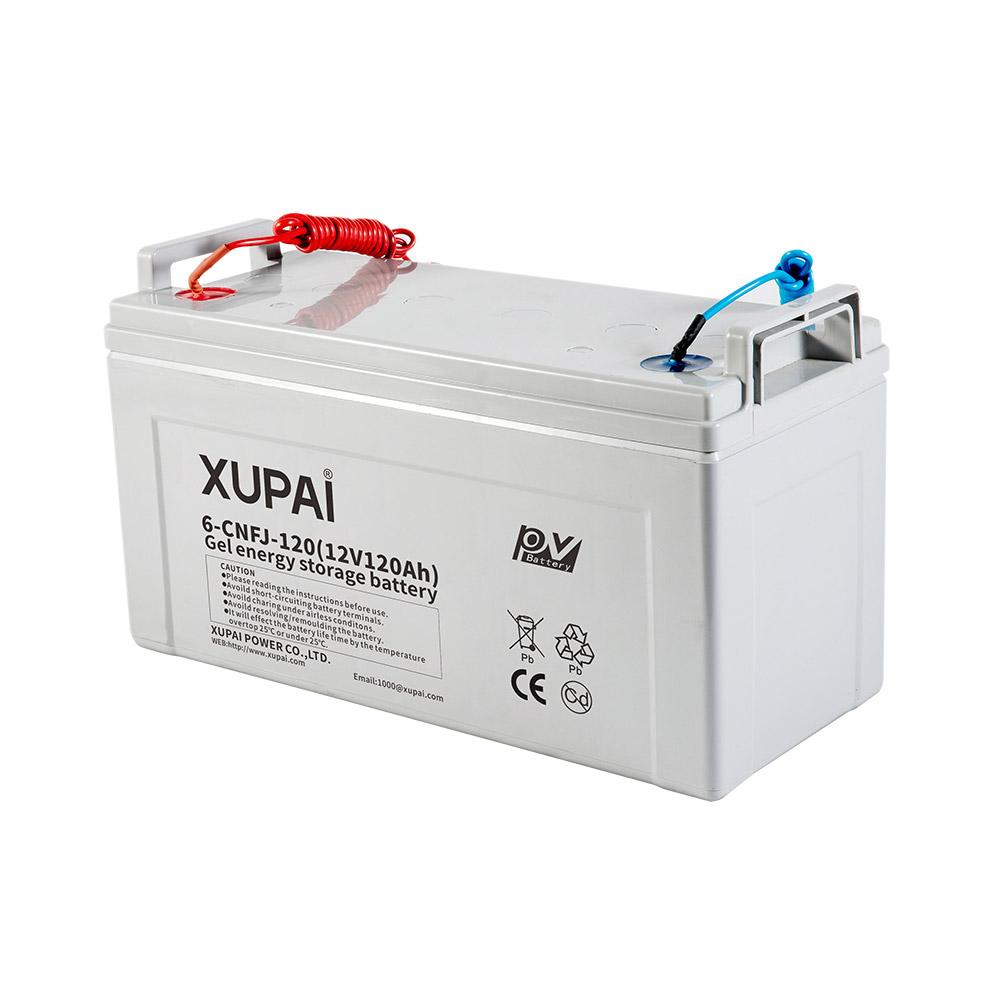 6-CNF (J) -120 bateria solar UPS de chumbo ácido para sistema de energia solar