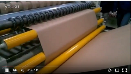 Kraft paper cutting machine