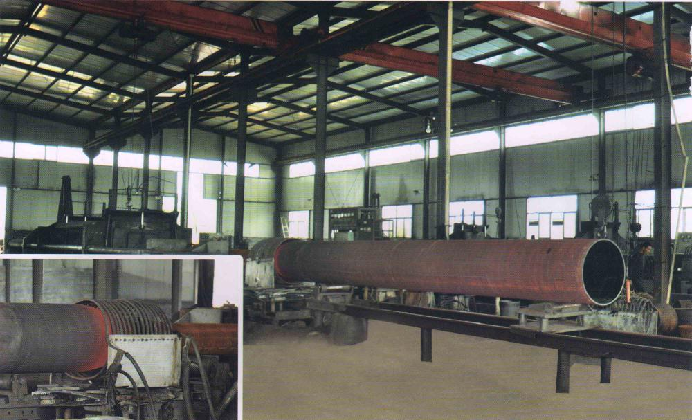 Seamless steel pipe plant