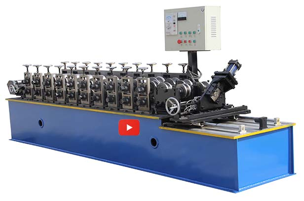 Omega Profile Cold Roll Forming Machine