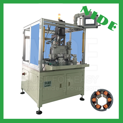 BLDC motor needle winding machine