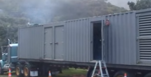 Piha Generators during September storm