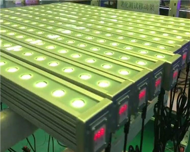 Square Type LED Wall Washer Color Changing in synchronization