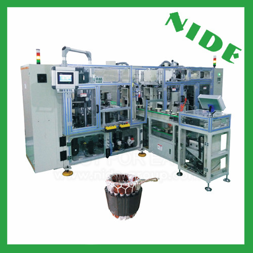 Stator lacing production line