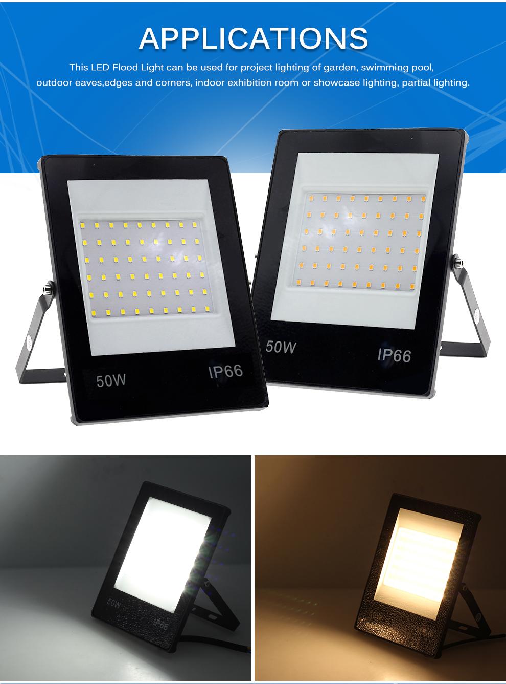 LED Flutlicht 220V 6