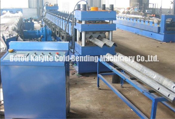 Two Waves Steel Highway Guardrail Roll Forming Machine