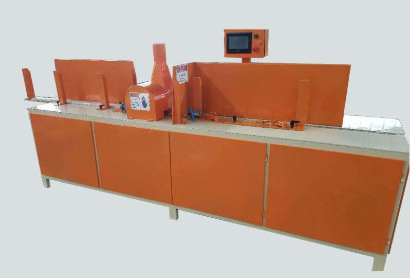 The tray panel trimming machine