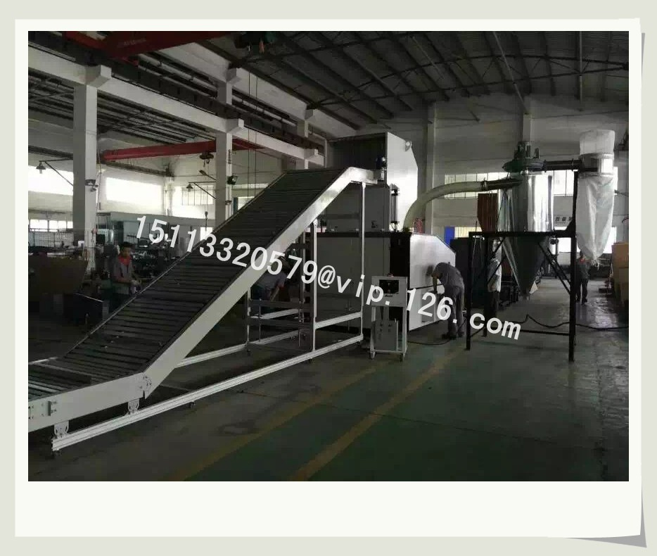 Plastic Crushing, Automatic Collecting and Powder Sifting System