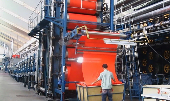 Continuous Dyeing Processing