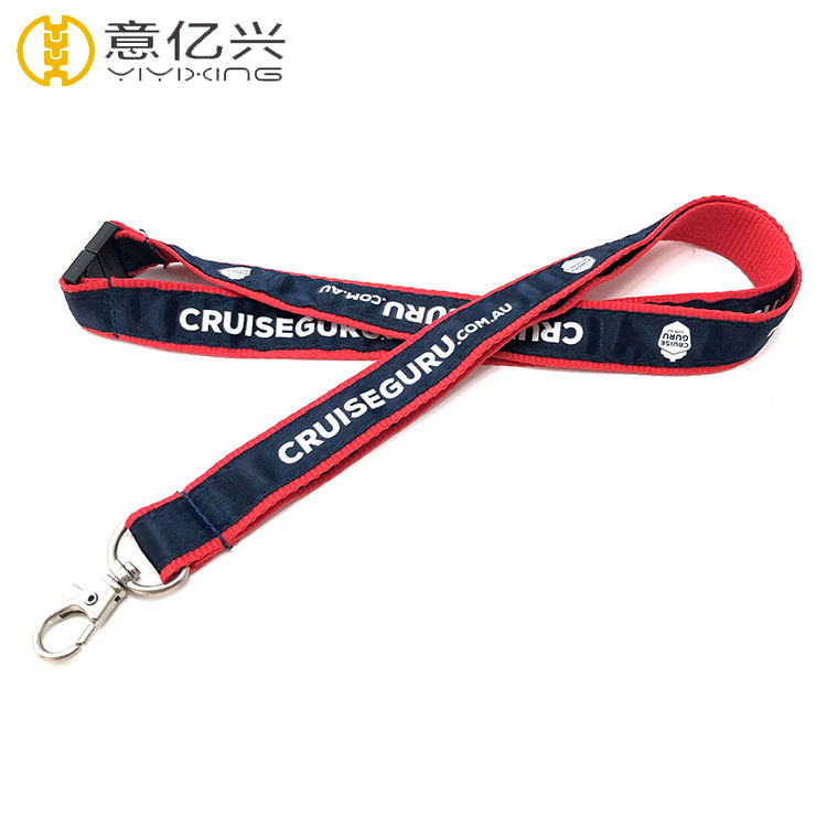Single or Double Layer Printed Lanyards In Polyester Material