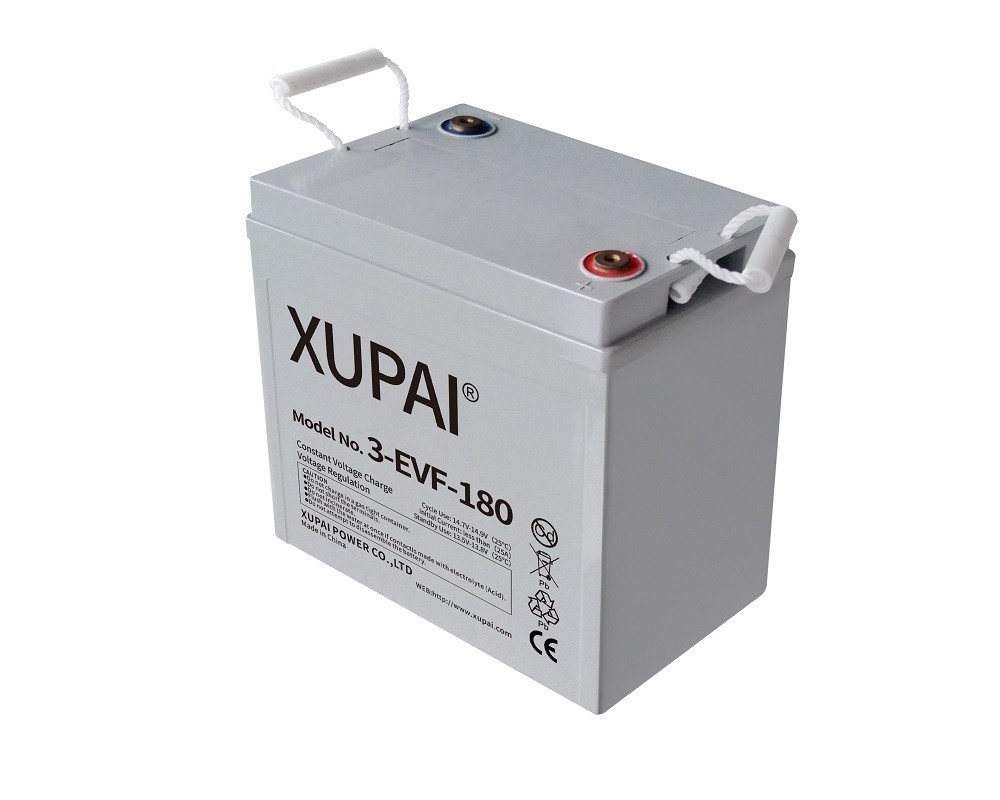 XUPAI 3-EVF-180 6V 180AH battery for electric golf car