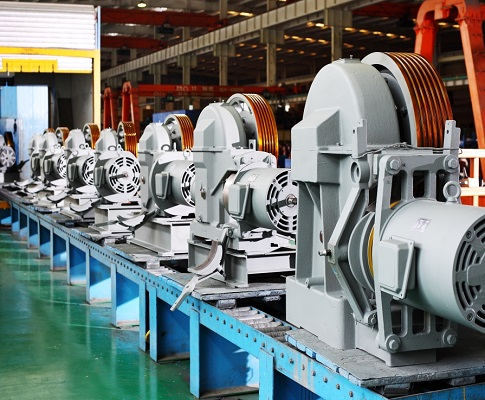 Traction Machine Manufacture line