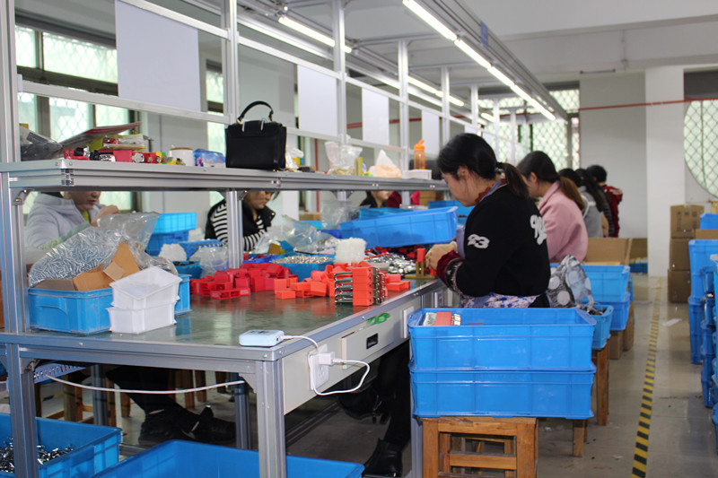 Lockout and tagout production line