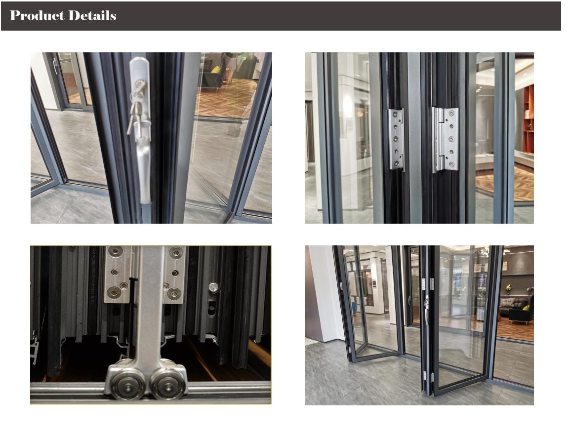 aluminum folding doors