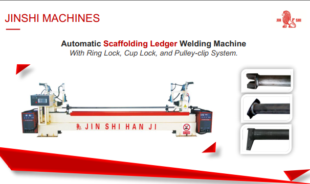 Ringlock Ledger Welding Machine