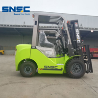 SNSC 3pcs 2.5ton diesel forklift are ready to Argentina
