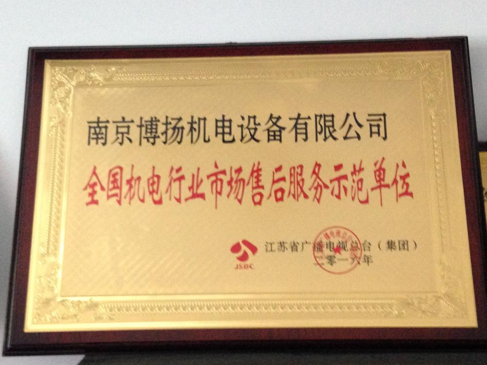 Jiangsu Province Quality Credit Enterprise