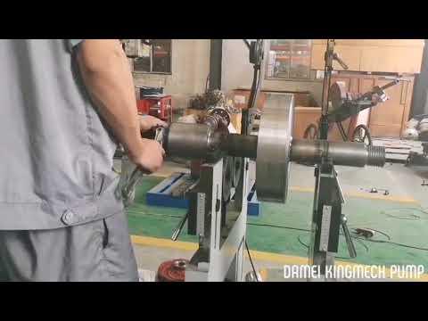 Slurry Pump impeller dynamic balance test