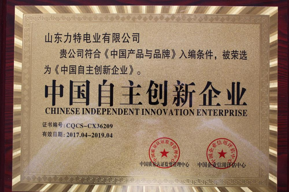Independent innovation enterprise