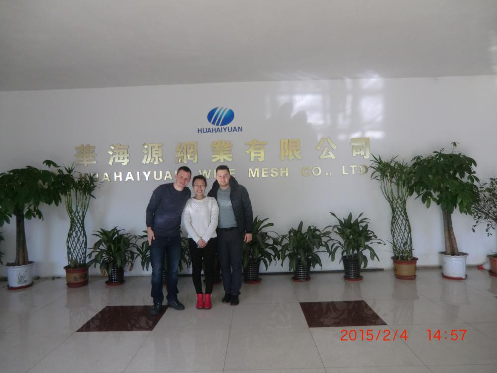 Customer Visiting factory