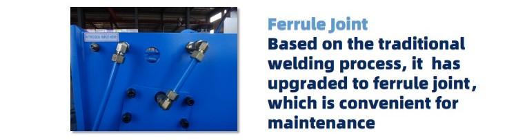 Cizalla hidráulica de viga oscilante de acero Cizalla de acero Máquina cortadora de placas de acero HT-METALFORMING