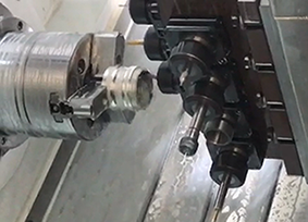 Custom Aluminum Turning with Righ-angle