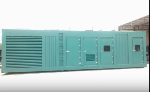 2000 kVA Container Type Generator Set