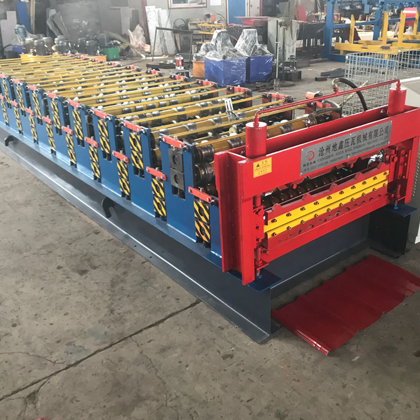 double layers rolling machine