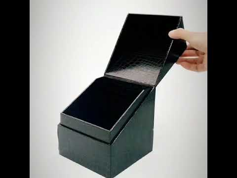 Embossing paper gift packaging box