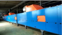 Vulcanizing furnace for foaming pipes/sheets production