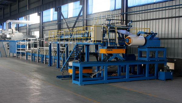 Automatic PU Sandwich Panel Manufacturing Line