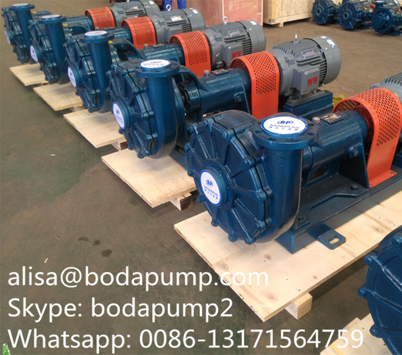 UHB-ZK chemical slurry pumps