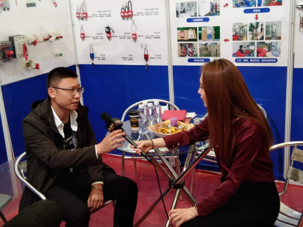 Have an interview by CCTV :)