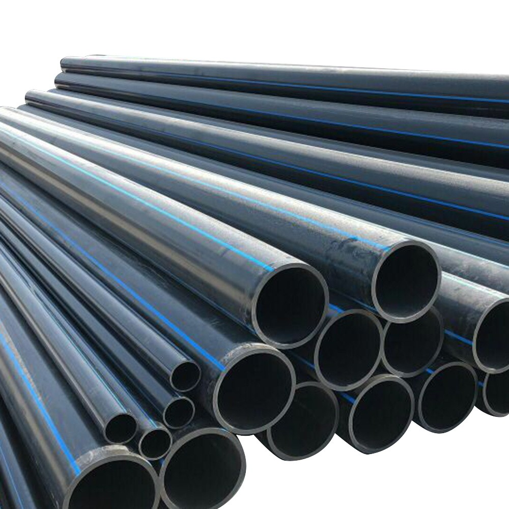 Pn16 Hdpe Pipe For Water Supply Dn400mm Pe100 Hdpe P~2