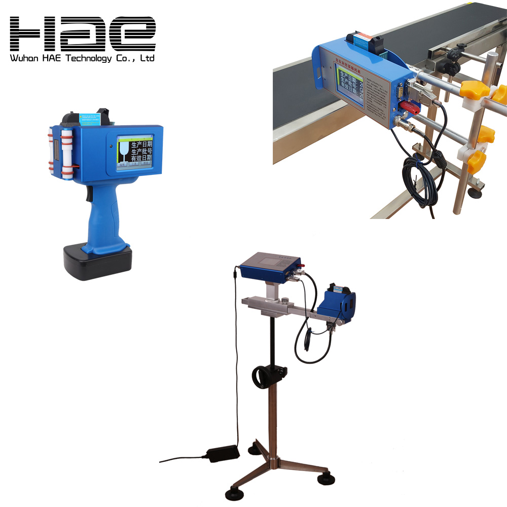 HAE-254 360 Degree Printing Industrial Inkjet Printer