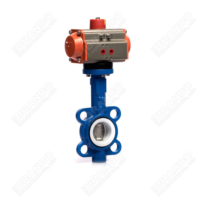 Sanitary Stainless Steel Tri Clamp Ball Valve With Pneumatic Actuator 10