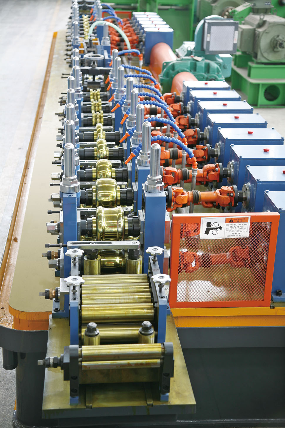 max tube 50 pipe making machine