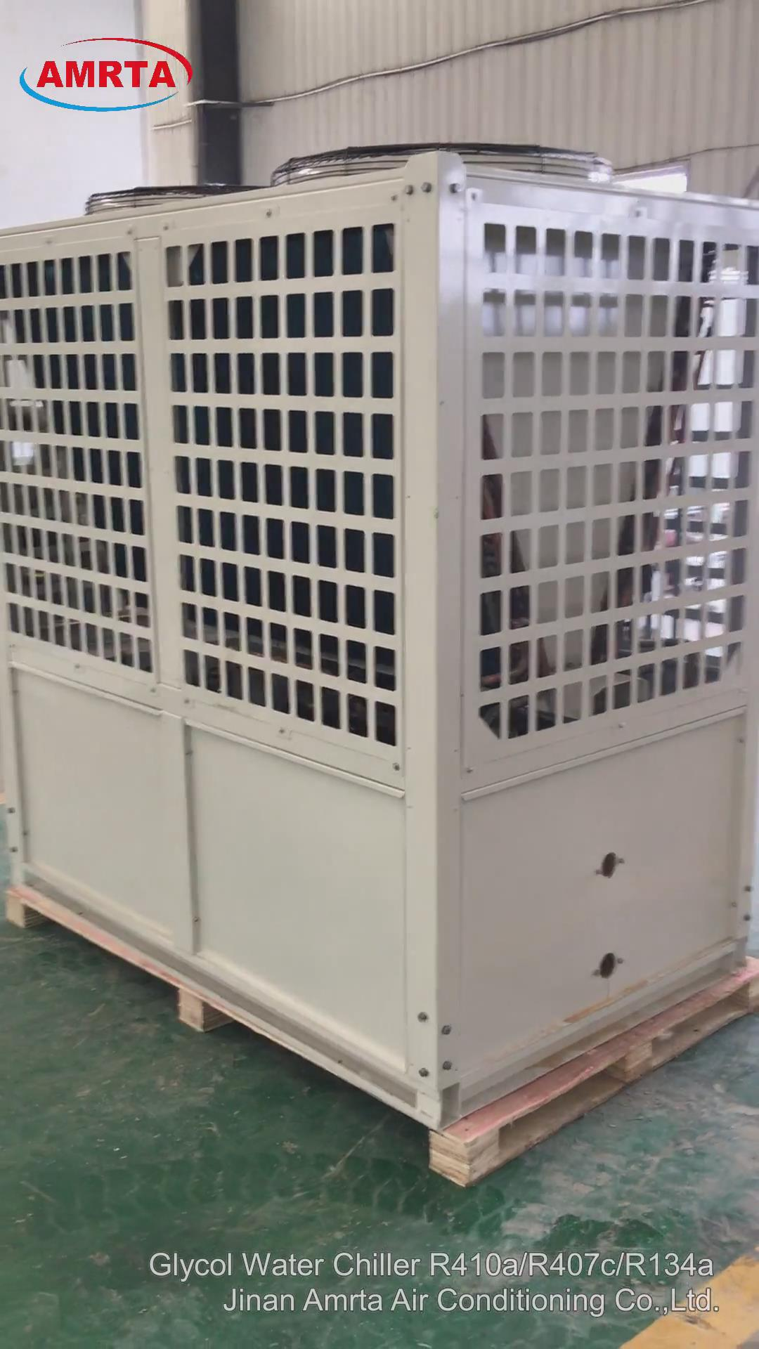 Air Cooled Modular Chiller and Heat Pump