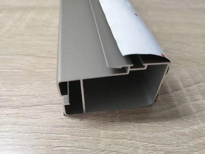 l'extrusion en aluminium de voie de glissement de 1.2mm Windows profile le type non thermique 1 de coupure