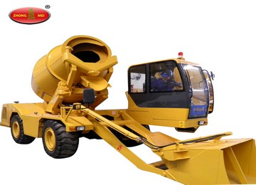 Mobile Concrete Mixing Station, self-Loading transit mixer