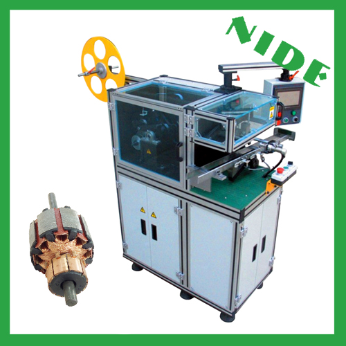 Armature wedge inserting machine