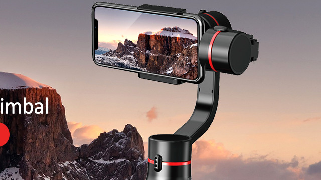 Dedicated APP for A5 handheld smartphone gimbal