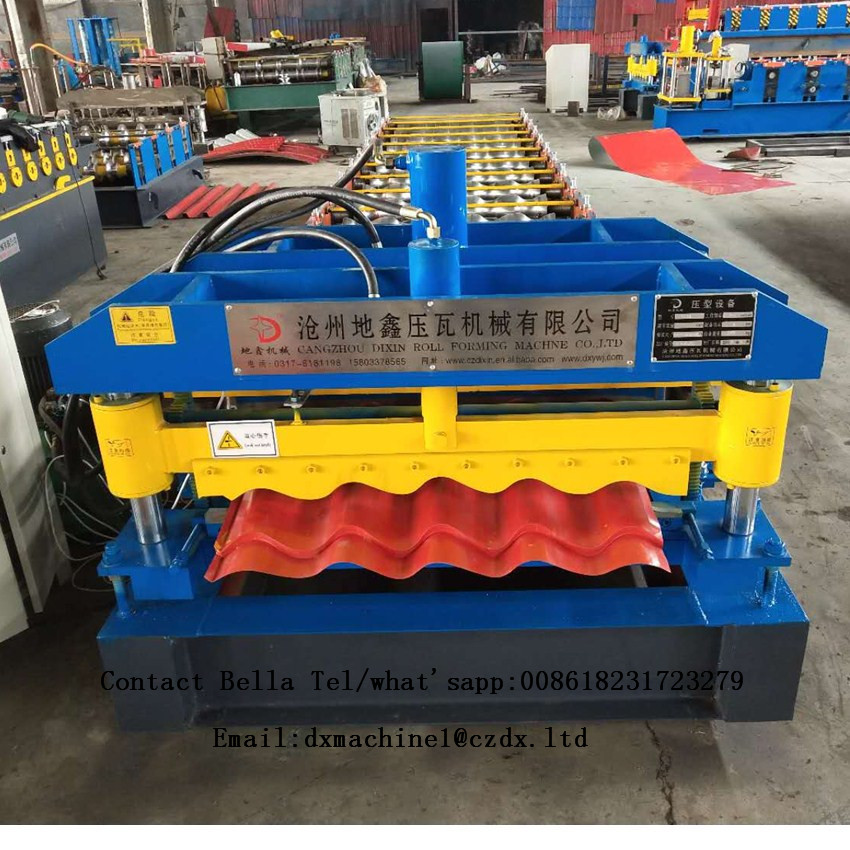 glazed tiles roll forming making machine